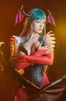 Darkstalkers:The Night Warriors -Morrigan Aensland by Zyaaa