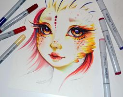 Namida the Phoenix by Lighane