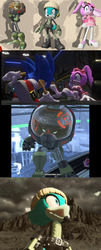 Sonic Forces: Characters and Screenshots by DarkMythicPsychicCat