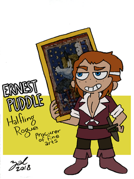 Ernest Puddle by Zal001