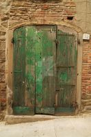 Green Door 32 by Bonedaddybruce