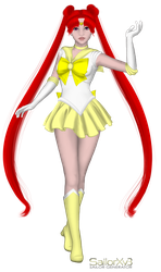 Sailor Remorse Moon - SailorXv3 by puff222001