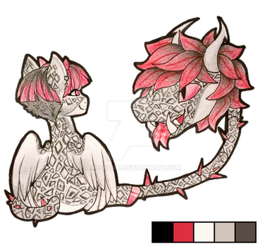 Primal plant pony adopt 17.21 (closed) by Ame-Kumo