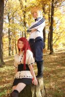 We are a strong couple! (Naruto Cosplay) by Stray-Cat-Yoru