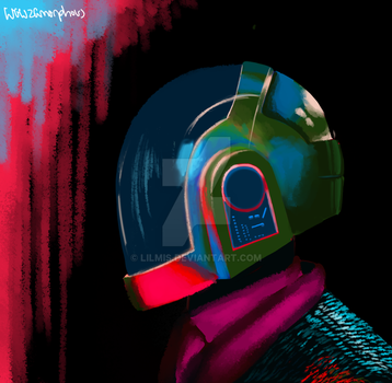 Daft Punk1 by LilMis