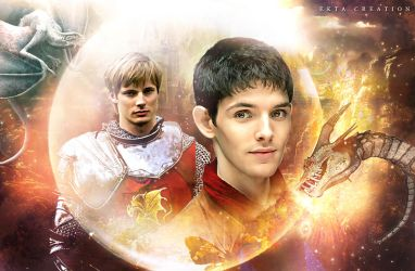 merthur fan art by ektapinki