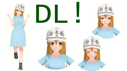 MMD  platelet Model  +DL by CMing37