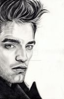 Robert Pattinson by EmilyHitchcock