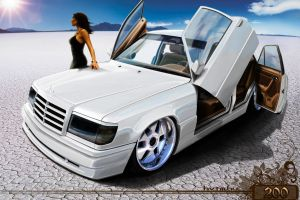 mercedes-benz e 200 by rookiejeno