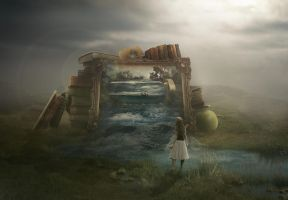 Dream Within A Dream by BenjaminHaley
