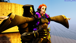 Moira x Reaper romantic by GAMIR-GTA