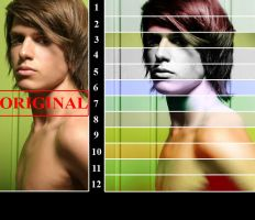 Photoshop Color Actions 2 by AliceInUnderland