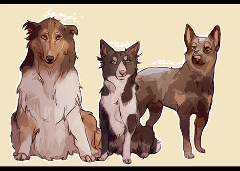 -PS Dogs- by HennaFaunway