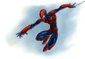 Spiderman Redesign by AIM-art
