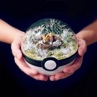 Spearow Winter - Poke Ball Terrarium