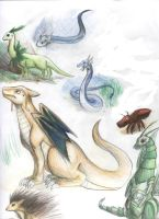 Realistic Pokemon Dragons