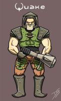 Quake guy by Oldquaker