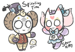 (CLOSED) Steampunk Onisheep AUCTION + new traits! by royalraptors