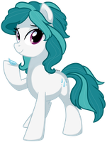 Dew Droplet - Pony OC by pepooni