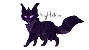 [] Nightstripe [] by CrystalColors