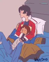 Quiet Time with lance by XxCutieShippingxX
