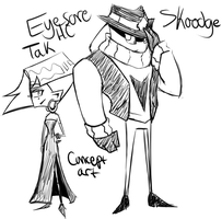 IZ Eyesore HC Tak and Skoodge concept art by ReneesRetrograde