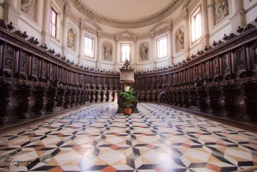 San Giorgio Maggiore choir seating by Sockrattes