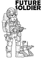 Doodle: Future Soldier by SkipperLee