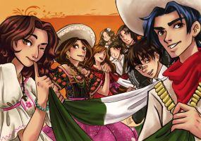 Party hard with Mexico by lilithcosa