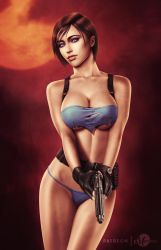 Jill Valentine - Torn Clothes by martaino