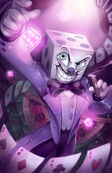 Mr. King Dice!!! by WalkingMelonsAAA