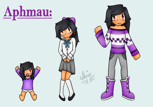 young to old | Aphmau|MinecraftDiaries| by Catherin478