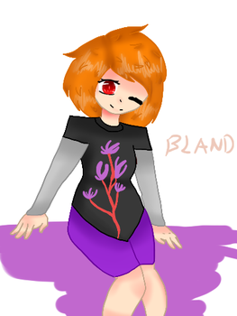 New Oc bland by dinogirl0707br
