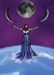 moonwoman by AsparagusBerry