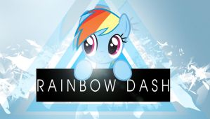 Yet another rainbow dash wallpaper - Alternative by Chaz1029