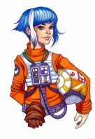 X-Wing Fighter Pilot by ChrissieZullo