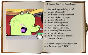 A Recipe for Fred FredBurger by Greensister125