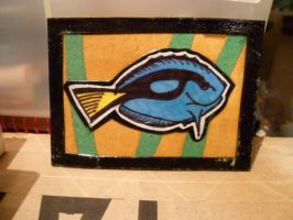 Fish ATC by mintdawn