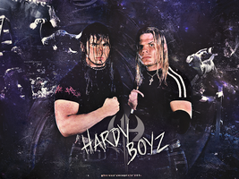 The Hardy Boyz // Dream Team of the Golden Years by GherdezGFX
