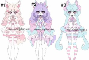 Llama girl adoptable batch Closed by AS-Adoptables
