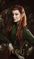 Tauriel 2 - The Hobbit cosplay (test) by LuckyStrikeCosplay