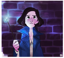 Fantastic Beasts and Where to Find Them: Tina by muminika