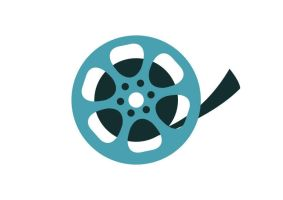 Film Reel Flat Vector Icon by superawesomevectors