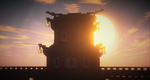 End shift at the watchtower by FinmineCommunity
