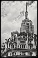 Empire Over Gilsey House by steeber