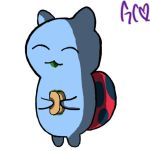 Catbug Has A Soft Taco by Trollan-gurl22