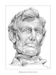 Abraham Lincoln by gregchapin
