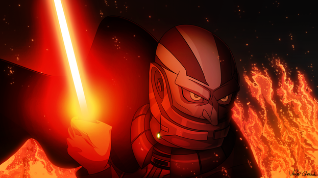 Darth Malak by RemiReckless