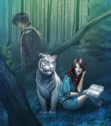 Kelsey and Ren by Juhani
