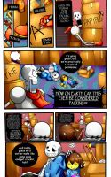Reminiscence: Undertale Fan Comic Pg. 1 by Smudgeandfrank
